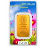 Zlatý slitek Argor Heraeus 1 Oz - Following Nature (jaro)