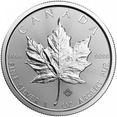 Stříbrná mince Maple Leaf 1 Oz